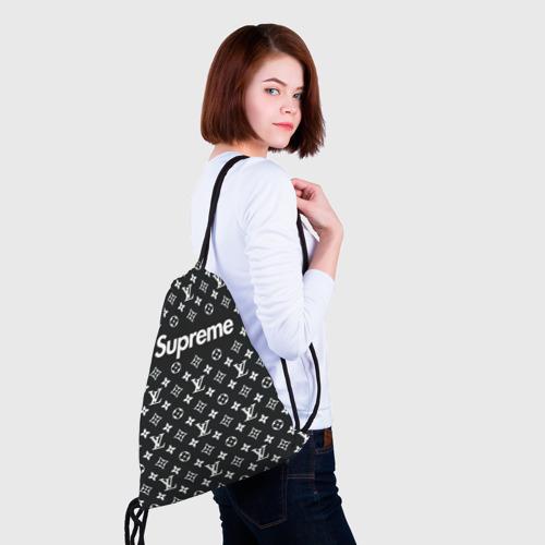 Рюкзак-мешок 3D Supreme x Louis Vuitton Фото 01