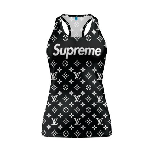 Женская майка 3D спортивная Supreme x Louis Vuitton Фото 01