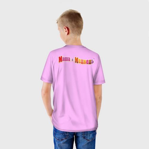 Детская футболка 3D  Фото 02, Маша