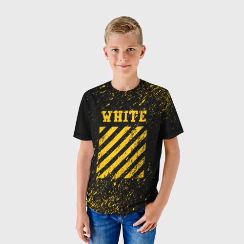 Детская футболка 3D OFF WHITE
