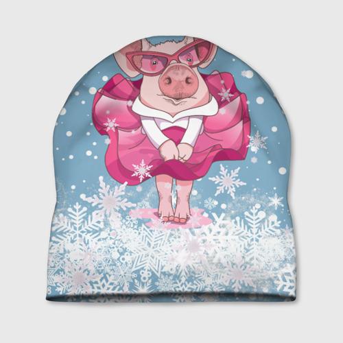 Свинка в розовом