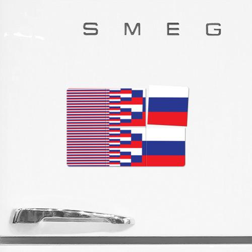 Магнитный плакат 3Х2 Флаг России Фото 01
