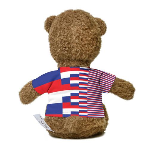 Миша в футболке 3D Флаг России Фото 01