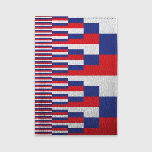 Обложка для автодокументов Флаг России Фото 01