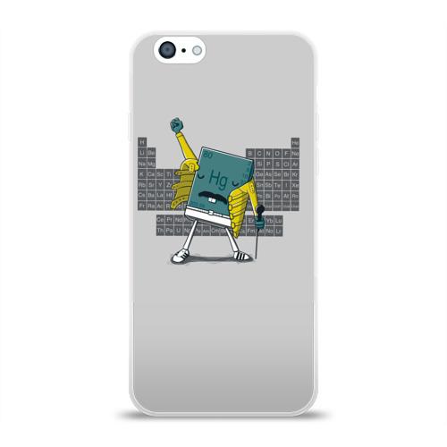 Чехол для Apple iPhone 6 силиконовый глянцевый  Фото 01, Hg