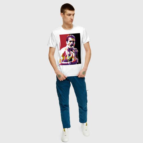 Мужская футболка хлопок Freddi Фото 01