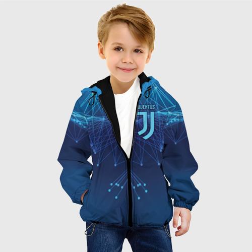 Детская куртка 3D Juventus Lifestyle Фото 01