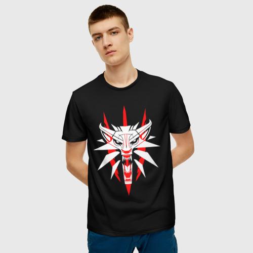 Мужская футболка 3D  Фото 03, THE WITСHER 3
