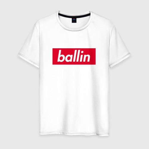 Мужская футболка хлопок Ballin (Kizaru) Фото 01