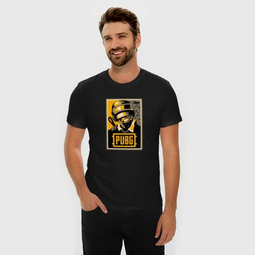 Мужская футболка премиум  Фото 03, PUBG