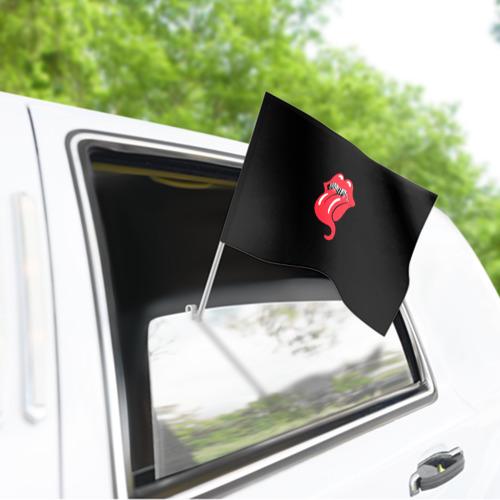 Флаг для автомобиля  Фото 03, Monsters Kiss