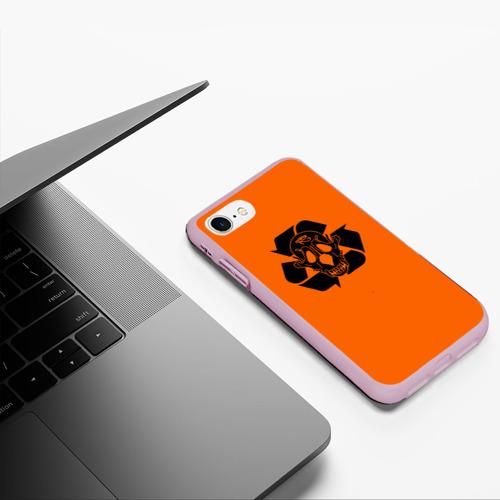 Чехол для iPhone 7/8 матовый Skull of PHARAOH Фото 01