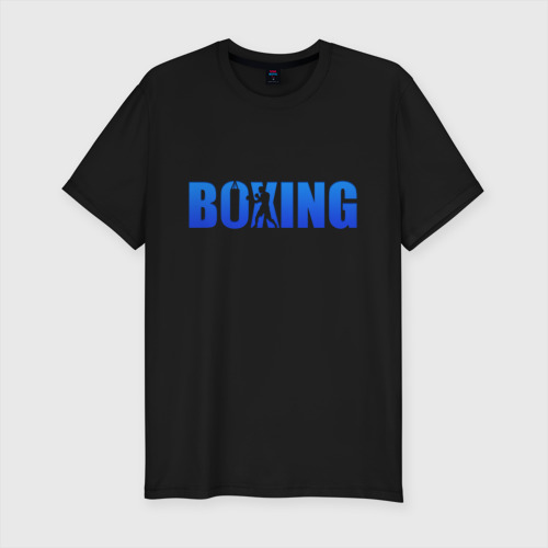 Boxing blue ring