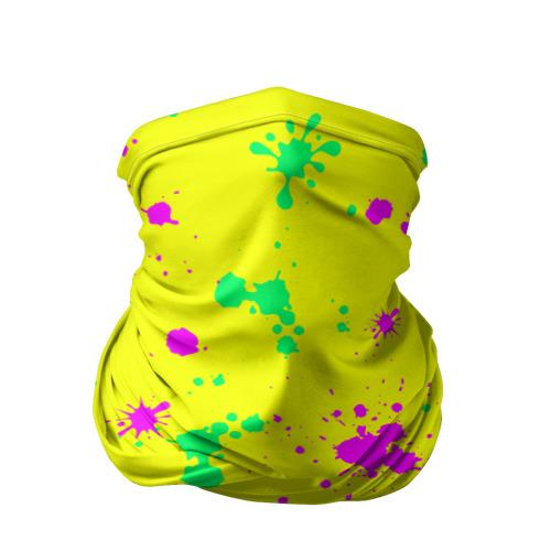 Бандана-труба 3D Coldcloud жёлтый