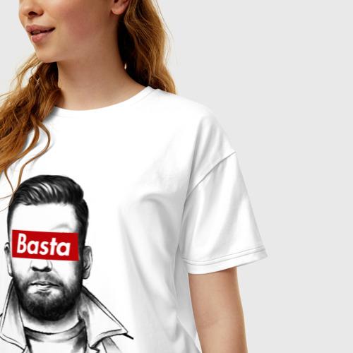 Женская футболка хлопок Oversize Basta Фото 01