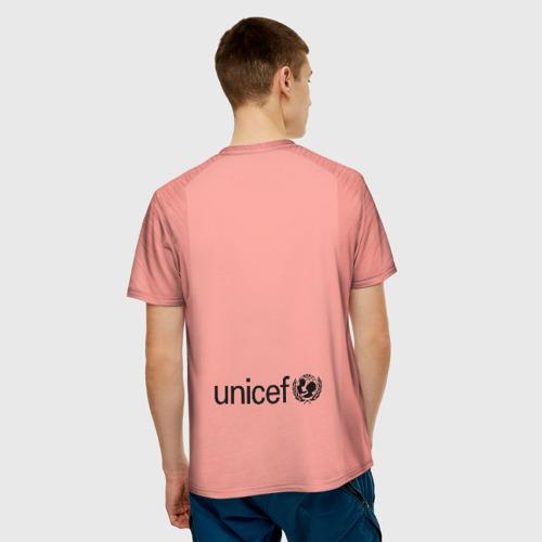 Мужская футболка 3D  Фото 02, Barcelona alternative 18-19