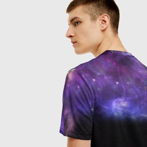 Мужская футболка 3D Elon Musk space Илон Маск