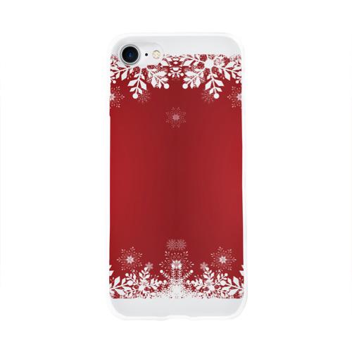 Чехол для Apple iPhone 8 силиконовый глянцевый  Фото 01, Новогоднее чудо