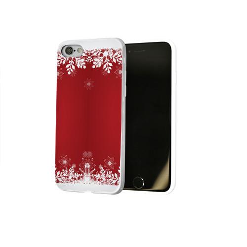 Чехол для Apple iPhone 8 силиконовый глянцевый  Фото 02, Новогоднее чудо