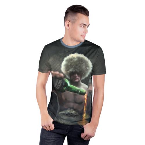 Мужская футболка 3D спортивная Conor's Whiskey Фото 01