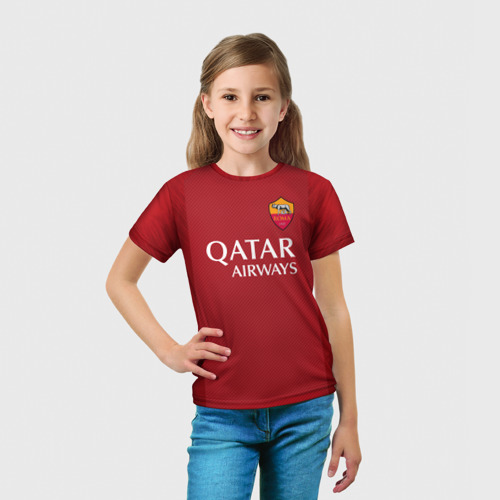 "Детская 3D футболка ""Totti legend 18-19"" фото 2"