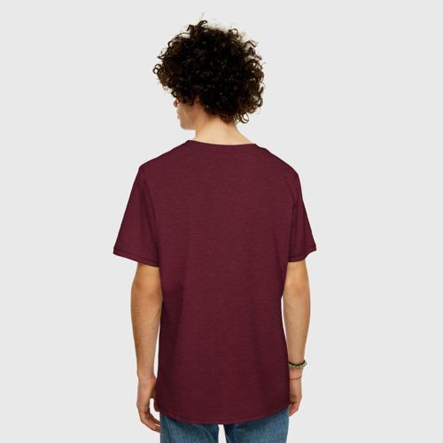 Мужская футболка хлопок Oversize Бодрость бьет ключом Фото 01