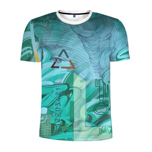 Мужская футболка 3D спортивная  Фото 01, Euro