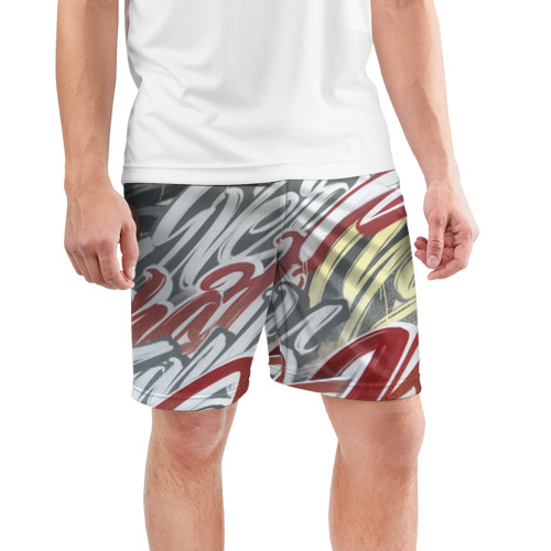 Мужские шорты 3D спортивные  Фото 03, The Mind