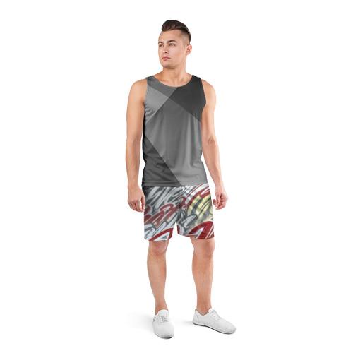 Мужские шорты 3D спортивные  Фото 04, The Mind