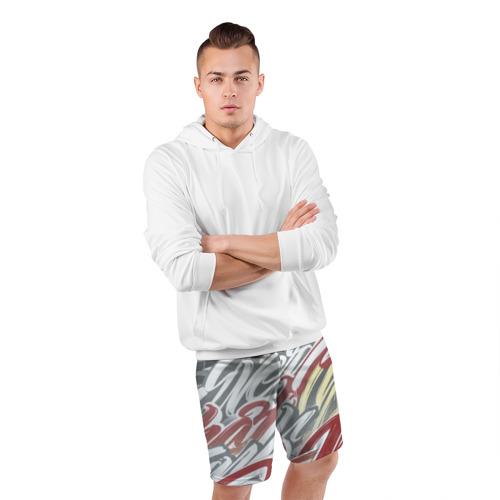 Мужские шорты 3D спортивные  Фото 05, The Mind