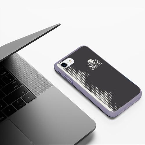 Чехол для iPhone 7/8 матовый I Love Rock Фото 01