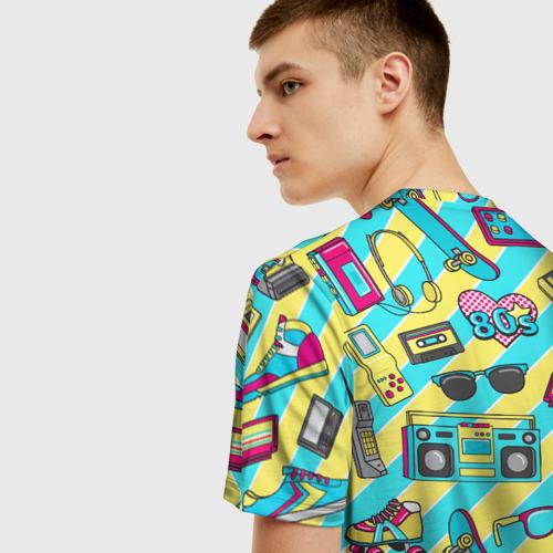 Мужская футболка 3D 80-е Фото 01