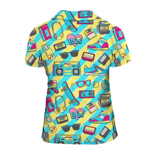 Женская рубашка поло 3D 80-е Фото 01