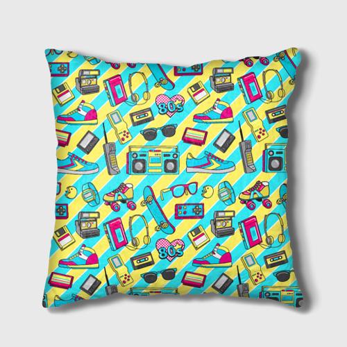 Подушка 3D 80-е Фото 01