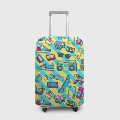 Чехол для чемодана 3D 80-е Фото 01