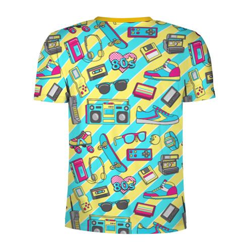 Мужская футболка 3D спортивная 80-е Фото 01