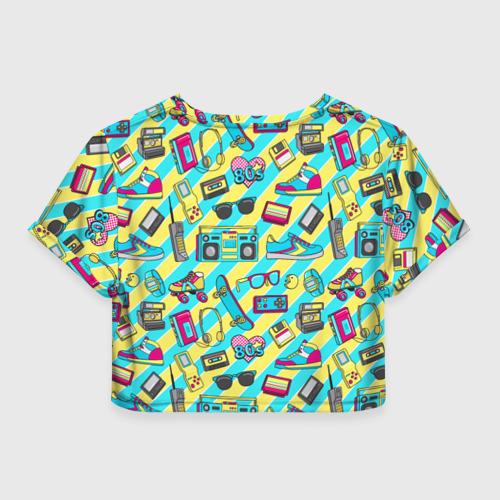 Женская футболка Cropp-top 80-е Фото 01