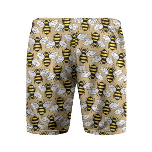 Мужские шорты 3D спортивные  Фото 02, Пчёлки
