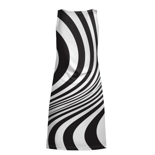 Платье-майка 3D 3D принт зебра Фото 01