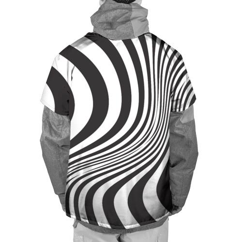 Накидка на куртку 3D 3D принт зебра Фото 01