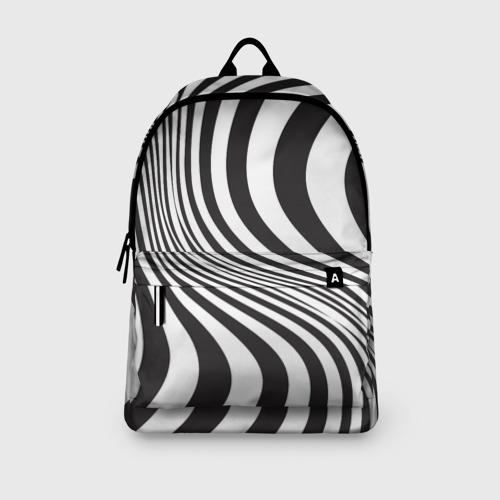 Рюкзак 3D 3D принт зебра Фото 01
