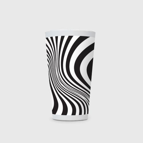 Кружка Латте 3D принт зебра Фото 01