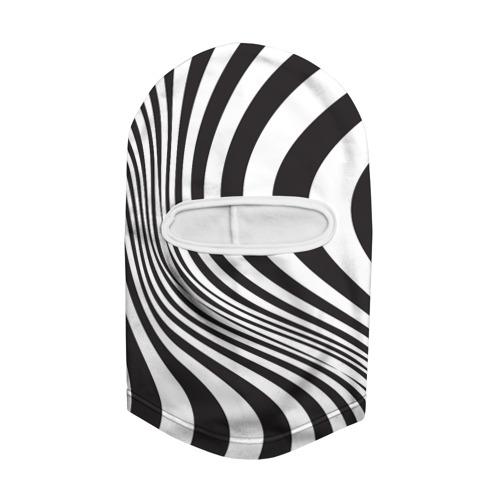 Балаклава 3D 3D принт зебра Фото 01