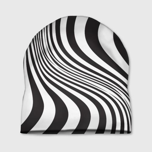Шапка 3D 3D принт зебра Фото 01