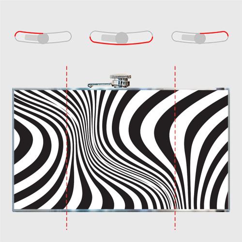 Фляга 3D принт зебра Фото 01