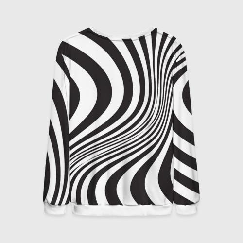Мужской свитшот 3D 3D принт зебра Фото 01