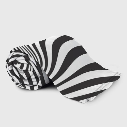 Плед 3D 3D принт зебра Фото 01