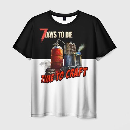 Мужская футболка 3D  Фото 01, CraftTime