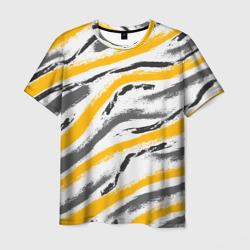Серый-желтый