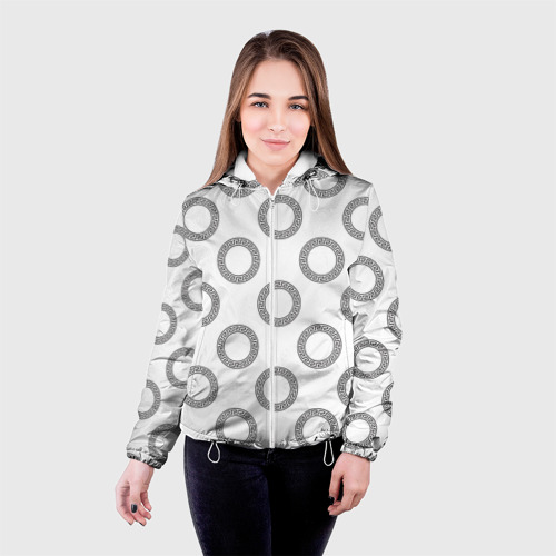 Женская куртка 3D  Фото 03, Греческий орнамент
